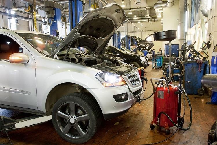 Vehicle Service Garage
